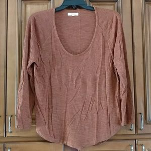 Madewell Anthem Slouchy scoopneck tee